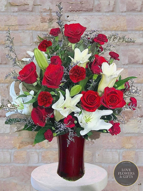 Remarkably Red Bouquet
