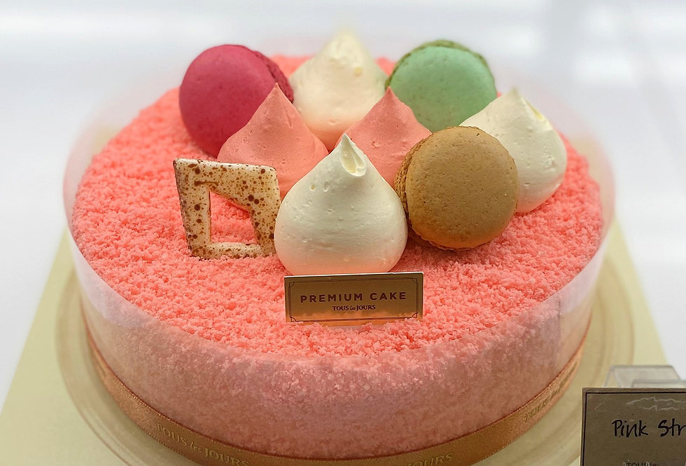 Strawberry Fantasy Cake from Tour les Joures (Add-on)