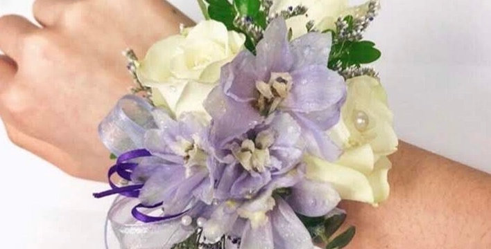 Lilac Dreams Corsage and Boutonniere