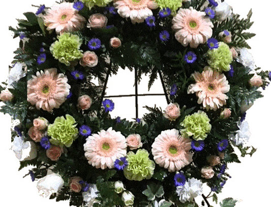 Always with Us Standing Wreath