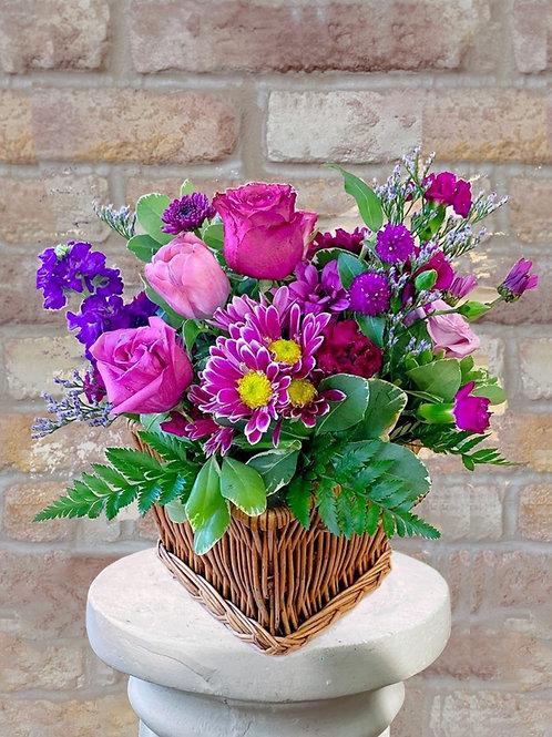 Lavender Lavender Basket