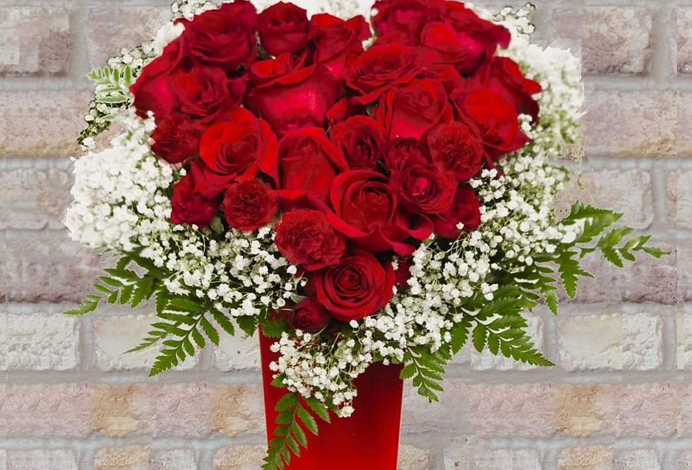 Red Heart For You Bouquet