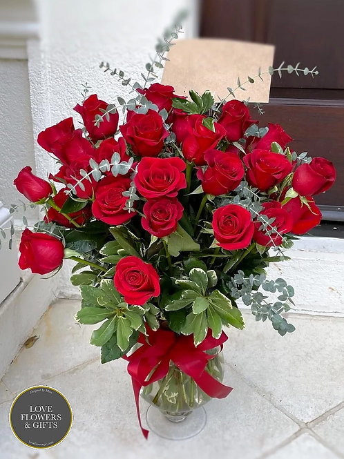 Luxurious 36 Red Roses