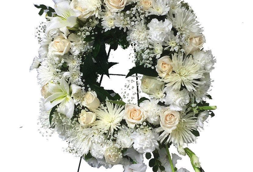 Heavenly Peace Standing Wreath