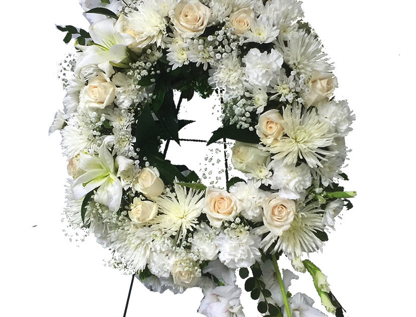 Heavenly Peace Standing Wreath