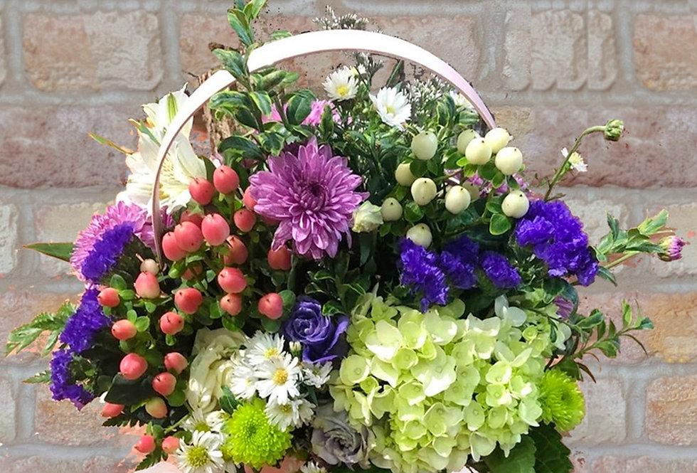 Message of Joy Basket