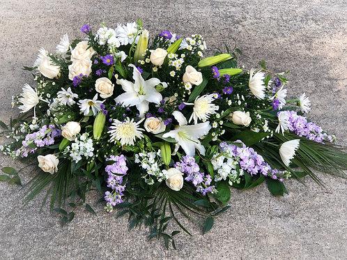 Funeral Half Casket-Spray