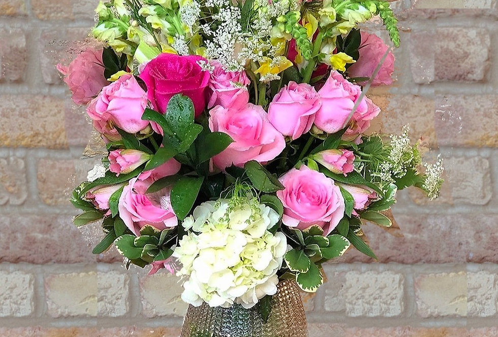 Rosy & Saintly Bouquet
