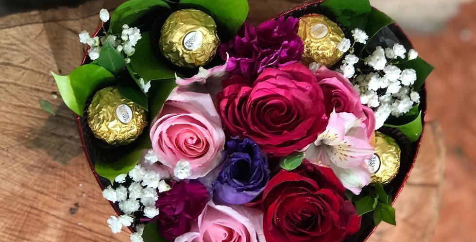 Take My Heart Flower Box