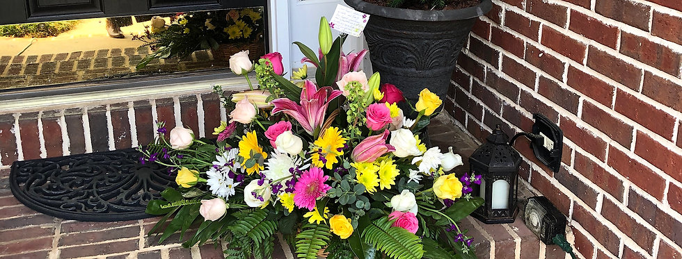 Truly Loved Sympathy Basket