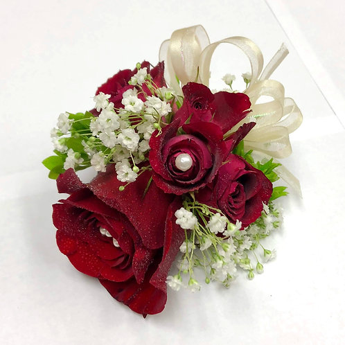 Simply Red Corsage/Boutonniere