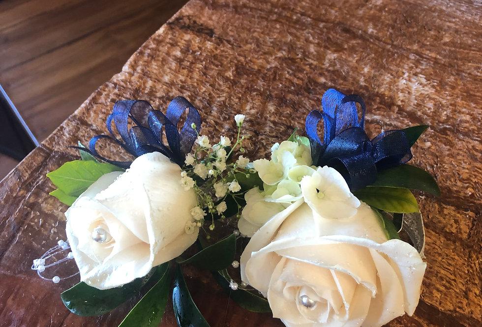White & Blue C&B Set