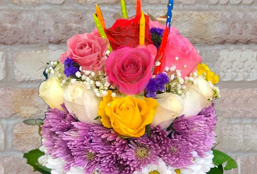 Blooming Birthday Cake!