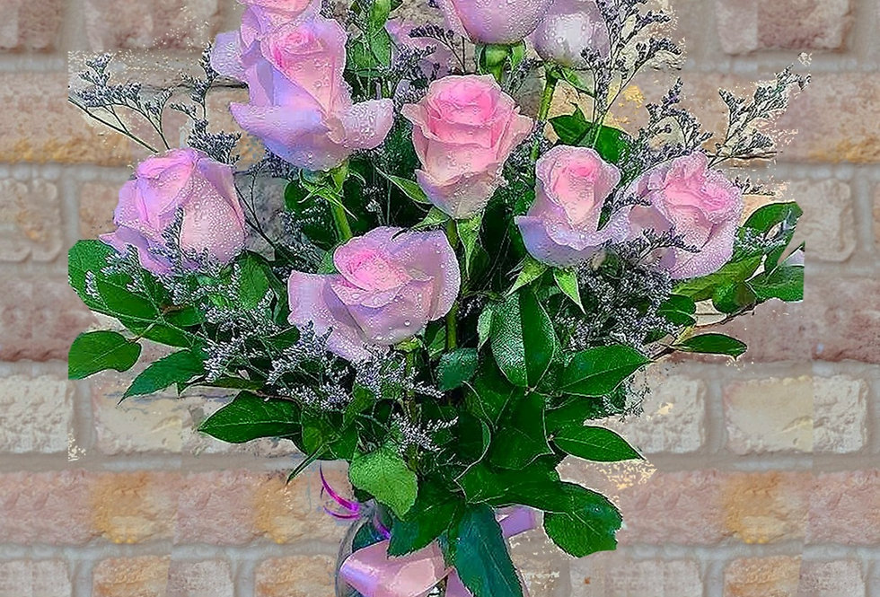 Fresh Baby Pink Roses