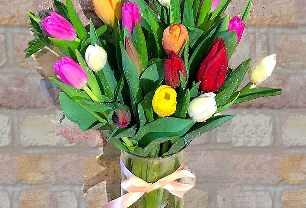 Fresh Tulip Medley