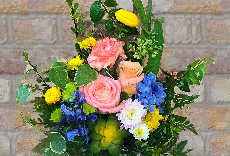 Enchanted Tale (Stone Vase) Bouquet