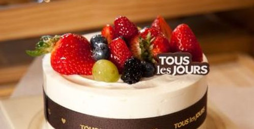 Cloud Cream Cake from Tous les Jours