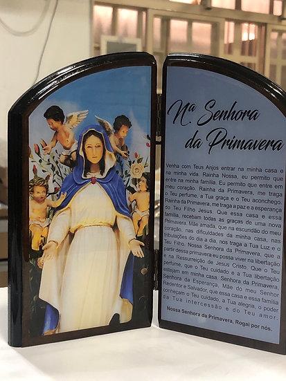 Capela Nossa Senhora da Primavera Oração 20cm