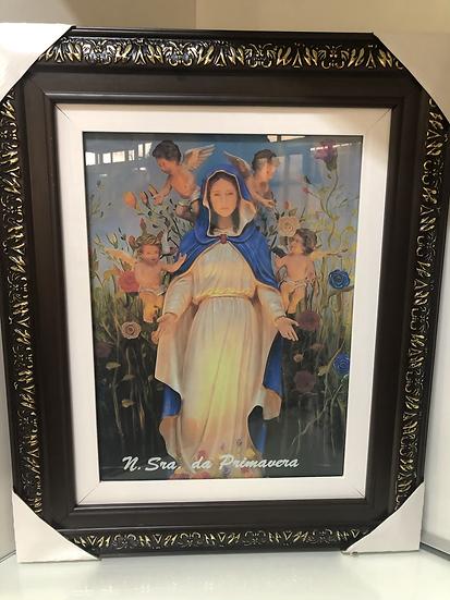 Nossa Senhora da Primavera c/ vidro 55X45