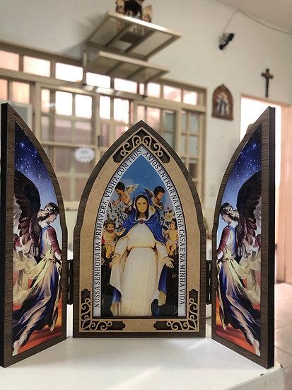 Capela Nossa Senhora da Primavera 15cm