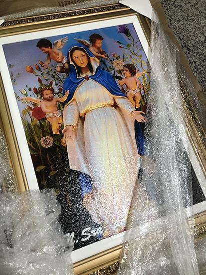 Quadro de Nossa Senhora da Primavera 90x75