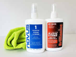 Comment nettoyer votre acrylique ?