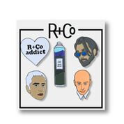 R+Co Branded Pins