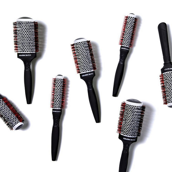 Round Brush Collection Ceramic and Ionic