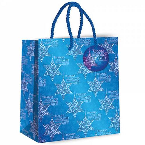 Thanks be to God Christian Christmas Gift Bag