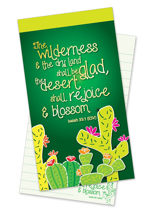 Wilderness to Blossom Jotter Notepad
