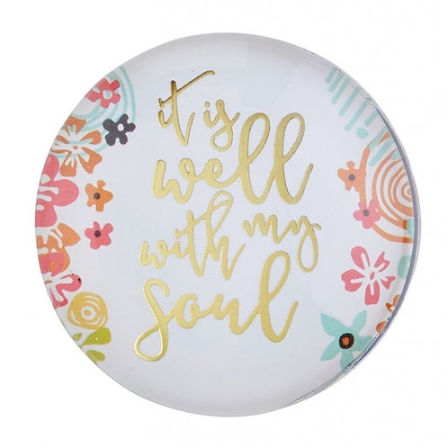 It Is Well With My Soul Christian Fridge Magnet