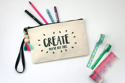 Create You've Got This Large Journaling Pencil Case