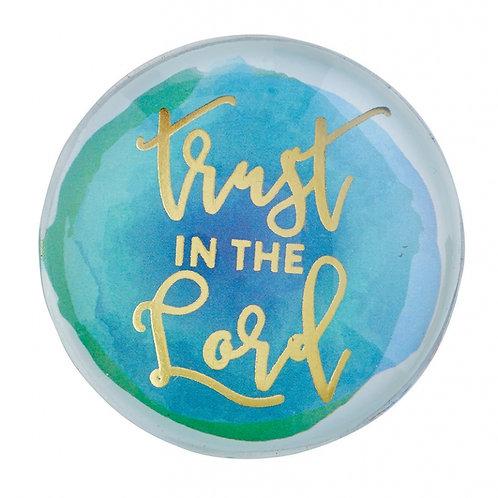 Trust In The Lord Christian Fridge Magnet