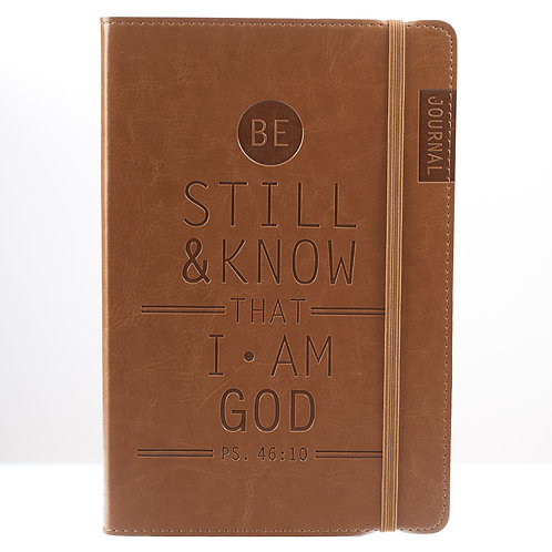 Be Still And Know Flexcover Christian Journal