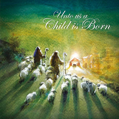 Shepherd Flock Nativity Christian Christmas Cards