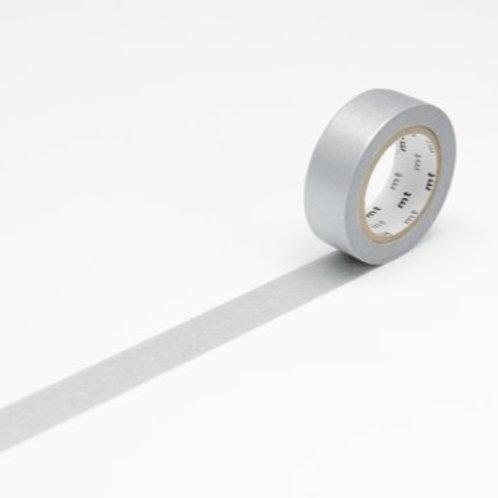 mt Silver Washi Masking Tape 10m Single Roll