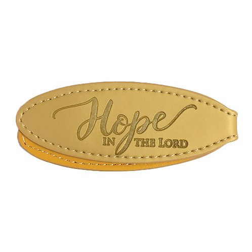 Hope In The Lord Magnetic LuxLeather Bookmark