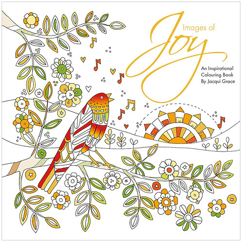 Images Of Joy Adult Christian Colouring Book
