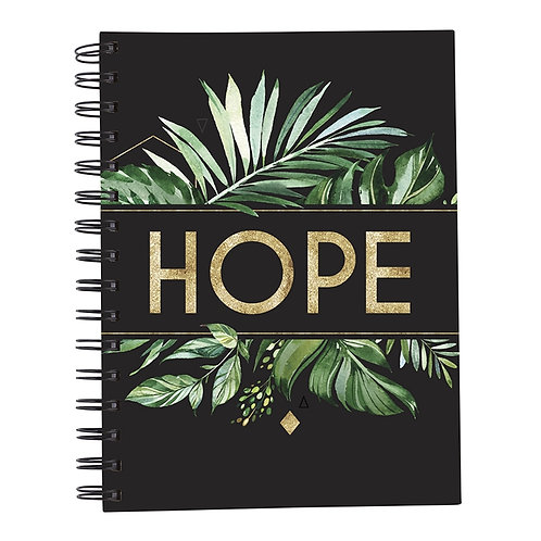 Hope Palm Hardback Wirebound Christian Notebook