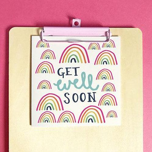 Get Well Soon Christian Greetings Card