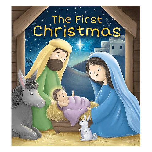 The First Christmas Soft Cover Story Book