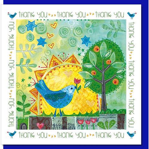Thank You Sunrise Christian Greetings Card