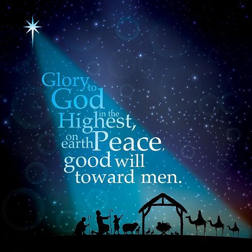Starlight Christian Christmas Cards