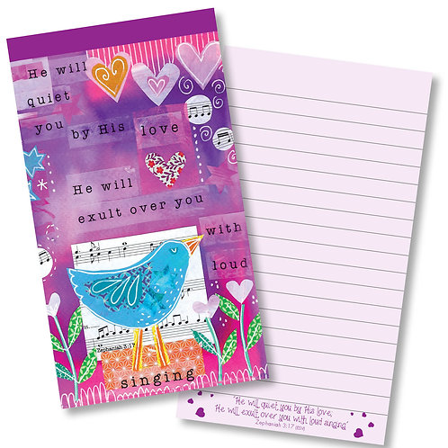 Quiet You By His Love Jotter Notepad