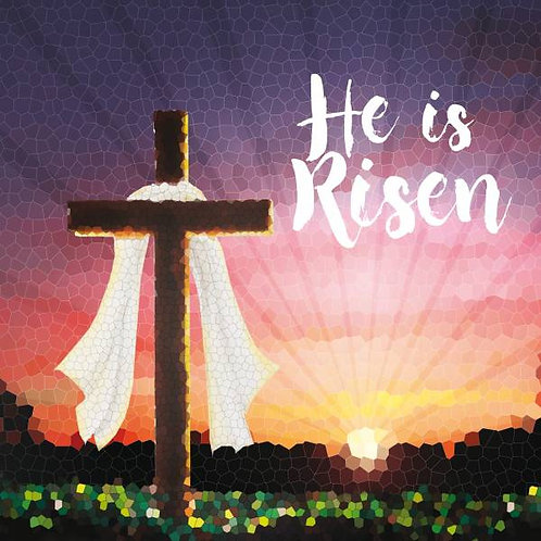 He Is Risen Christian Easter Cards