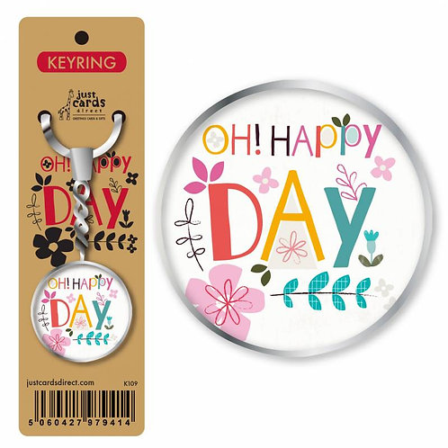Oh! Happy Day Christian Keyring