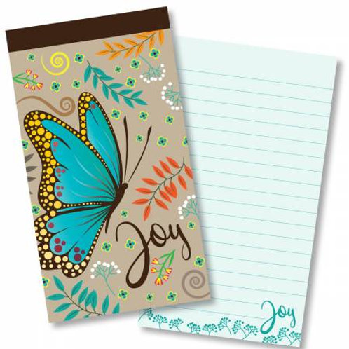 Joy Butterfly Jotter Notepad