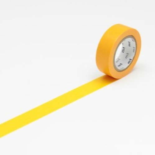 mt Himawari Yellow Washi Masking Tape 10m Single Roll