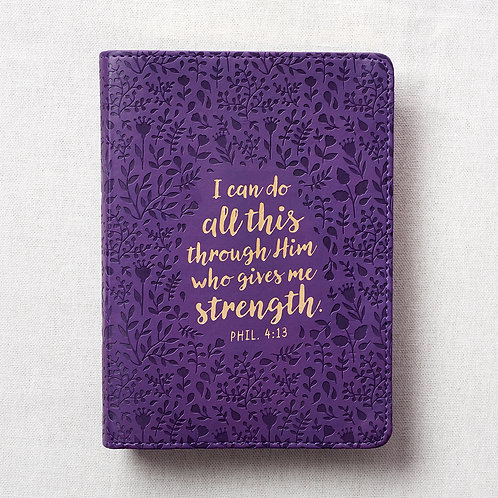 I Can Do All This Through Him Flexcover Christian Journal
