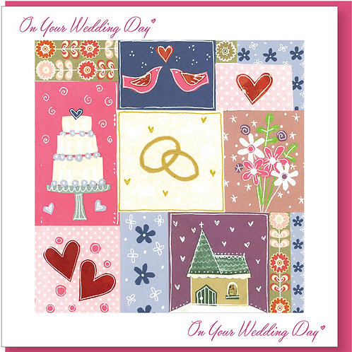 On Your Wedding Day Christian Greetings Card